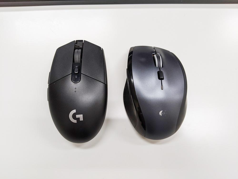 G304とM705rの比較2
