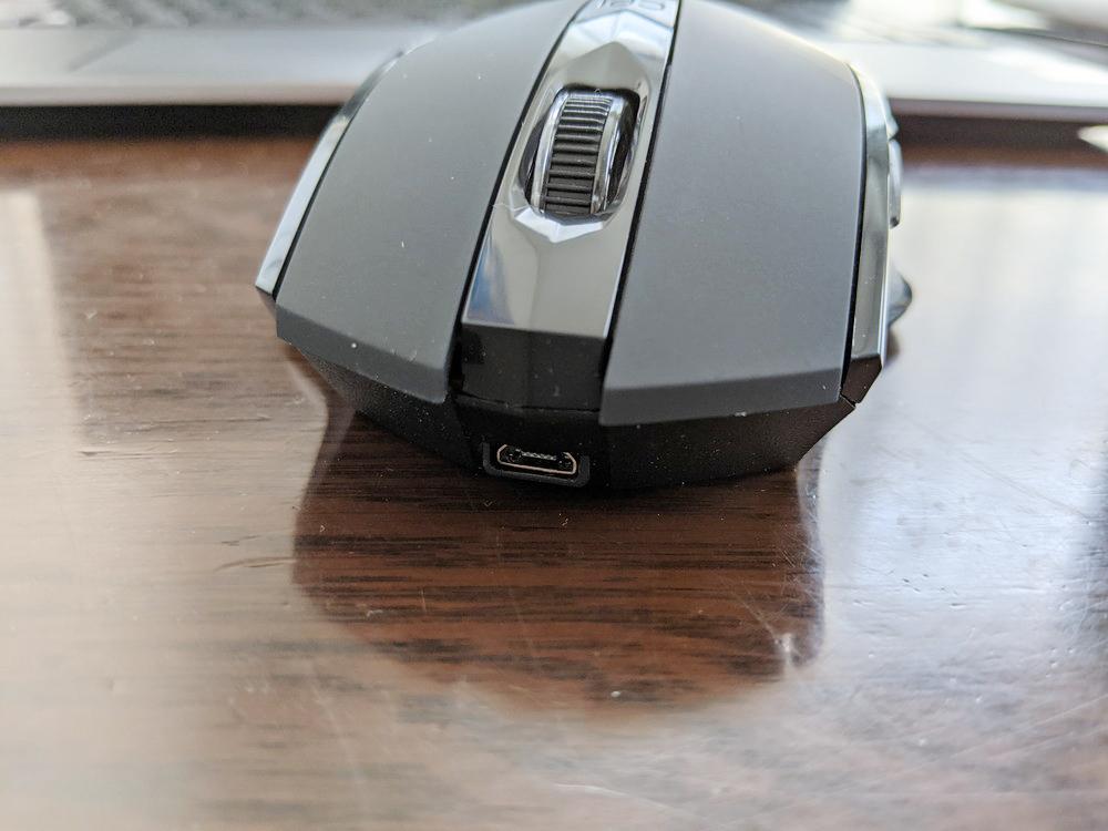 マウスの micro USB