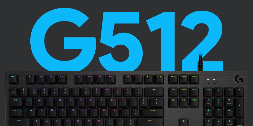 Logicool G512